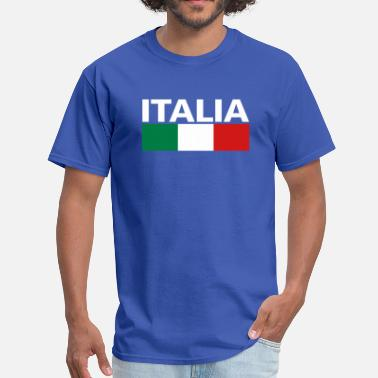 Italia Italy Italia Flag - Men's T-Shirt