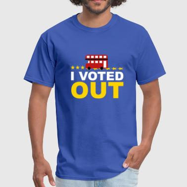 Vote Leave I Voted OUT - Men's T-Shirt
