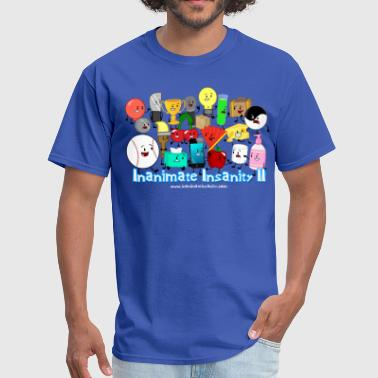 Inanimate Insanity II (Season 2) Full Cast Shirt * - Men's T-Shirt