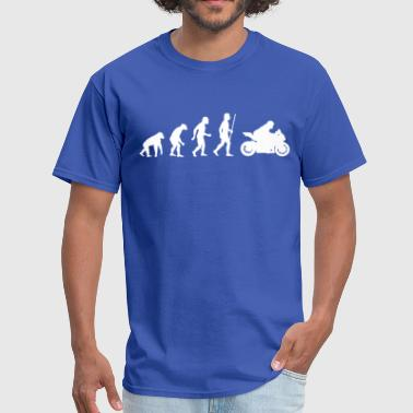 Motorbike Evolution Evolution of Motorbike - Men's T-Shirt
