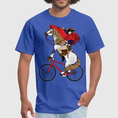 Napoleon Riding Horse Who's Riding A Bike - Men's T-Shirt