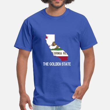 The Golden State The Golden State California - Men's T-Shirt