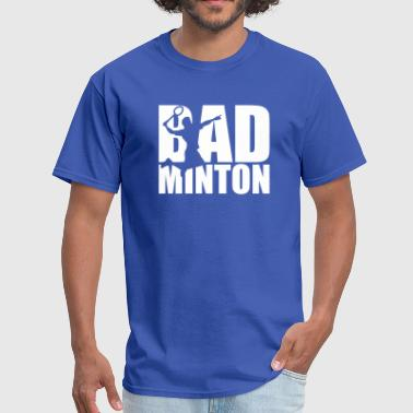 Badminton Logo Badminton - Men's T-Shirt