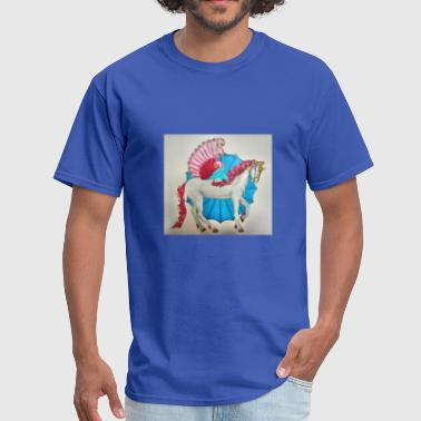 Horse, Wings - Men's T-Shirt
