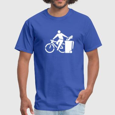 Ride Your Bike (Recycle Cars) Eco-Friendly Design - Men's T-Shirt