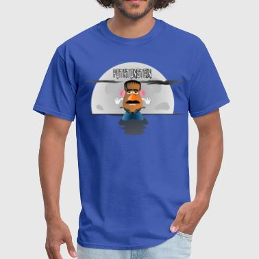 mr potato head frankenstein potatonstein moon - Men's T-Shirt