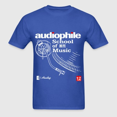 audio fidelity - Men's T-Shirt