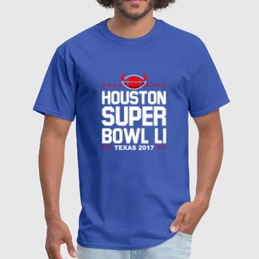 Super Bowl Li Houston Super Bowl LI texas 2017 - Men's T-Shirt