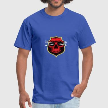 Design of red bone T-shirts - Men's T-Shirt