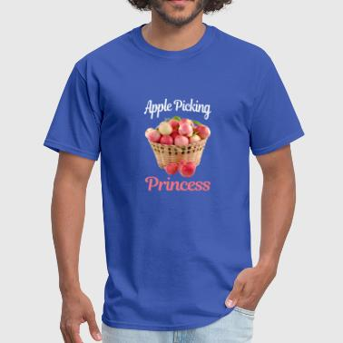 APPLE PICKING PRICESS FUNNY GIFT LOVERS - Men's T-Shirt