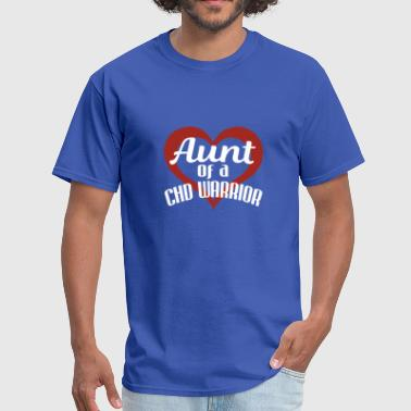 Congenital Heart Defect Awareness Aunt CHD Gift - Men's T-Shirt