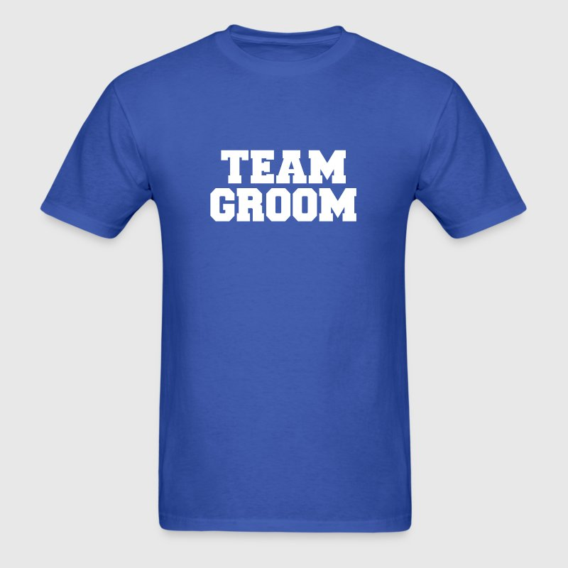 Team Groom - Men's T-Shirt