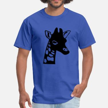Giraffe Head giraffe head  - Men's T-Shirt