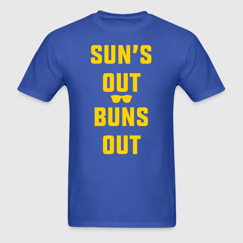 Suns Out Buns Out - Men's T-Shirt