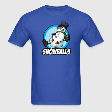 Snowballs - Men's T-Shirt