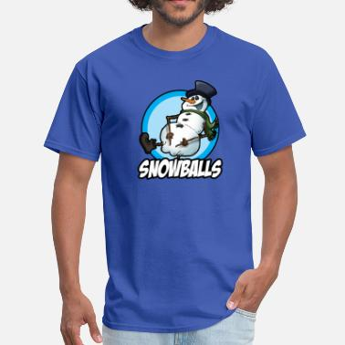 Snowball Snowballs - Men's T-Shirt
