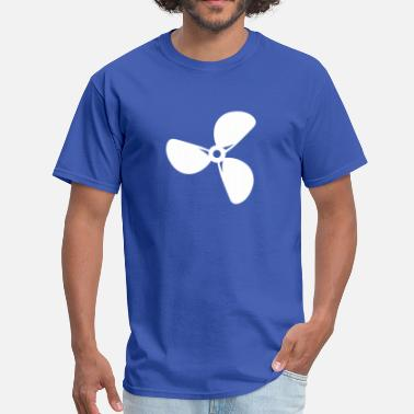 Propeller Ship - Men's T-Shirt