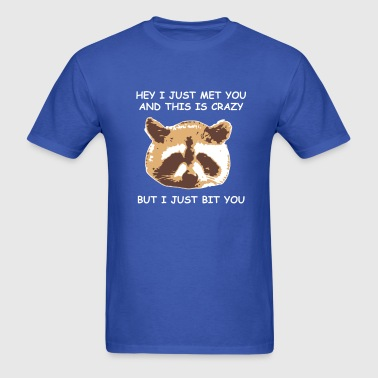 Raccoon Head [Meme] - Men's T-Shirt