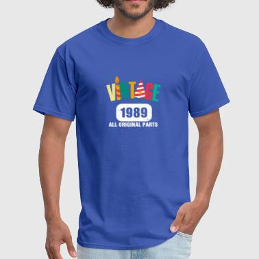 Vintage 1989 All Original Parts - Men's T-Shirt