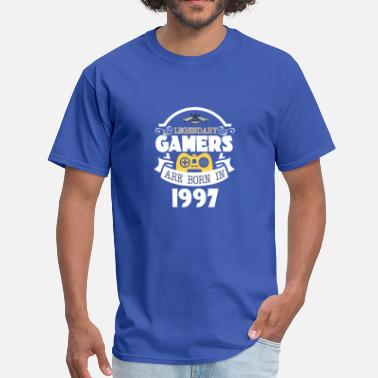 1997 Legendary Gamers Are Born In 1997 - Men's T-Shirt