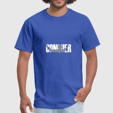 Design And Conquer Conquer - Men's T-Shirt