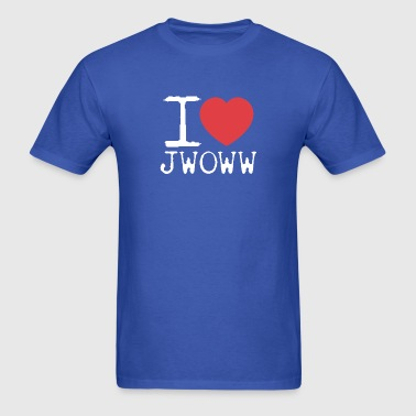 I Love Jwoww - Men's T-Shirt