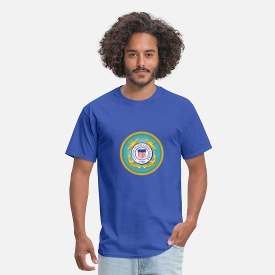 Navy T-Shirts - US Coast Guard - MILITEE.us - Men's T-Shirt royal blue