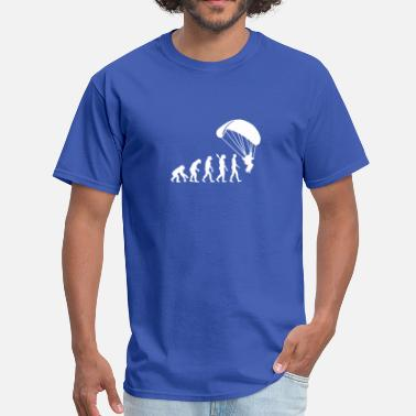 Paraglider Evolution Parachute jumping - Men's T-Shirt