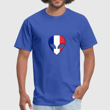 OVNI  France Extraterrestre - Men's T-Shirt