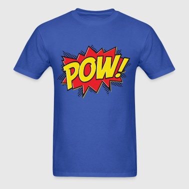 pow graphic t-shirt - Men's T-Shirt