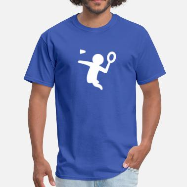 Stickfigure Kids Badminton Stickfigure - Men's T-Shirt