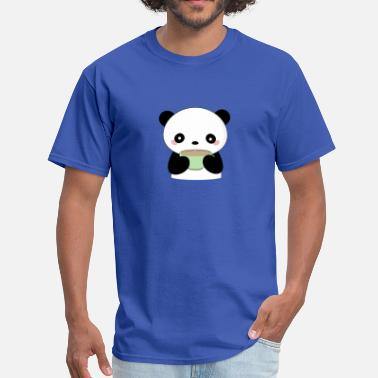 Kawaii Coffee Kawaii Coffee Panda - Men's T-Shirt