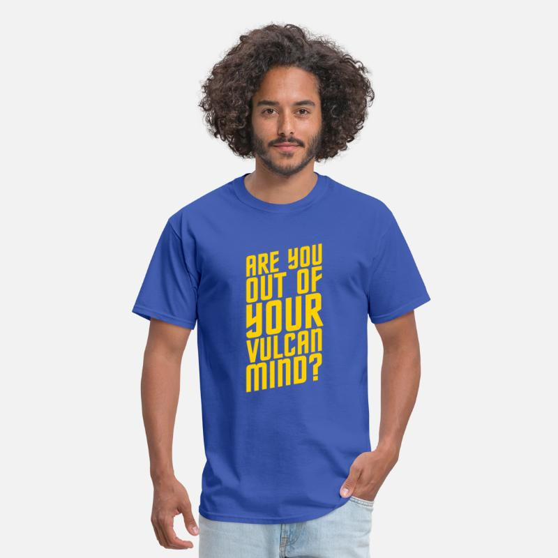 Spock T-Shirts - Are You Out Of Your Vulcan Mind - Men's T-Shirt royal blue