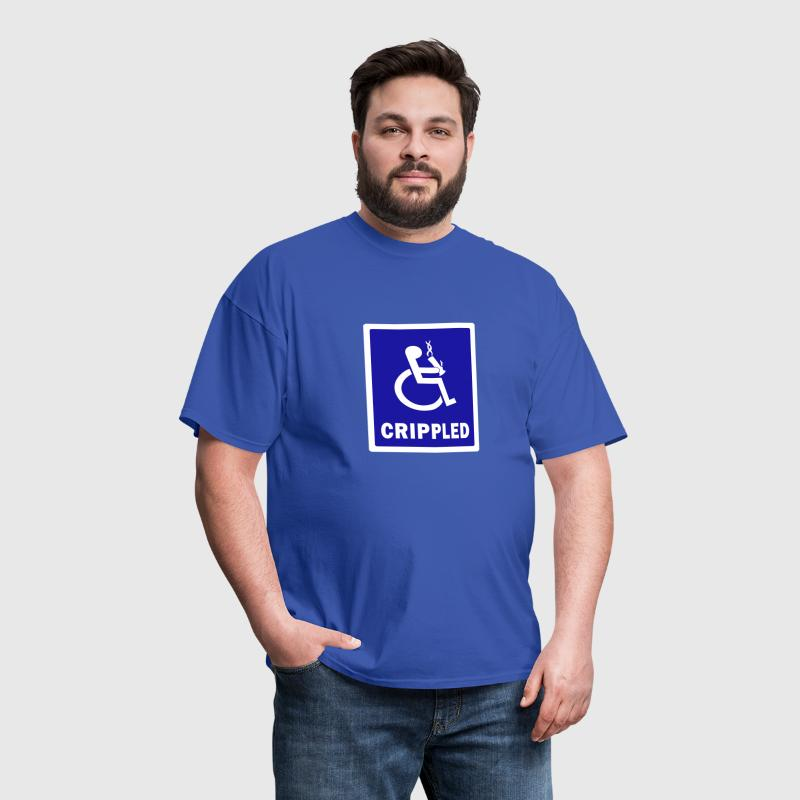 CRIPPLED - Men's T-Shirt
