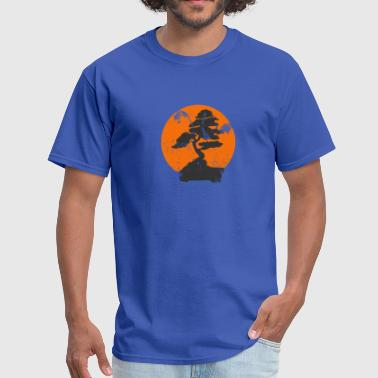 Tree Of Life Miyagi Banzai Tree Karate Kid Patch - Men's T-Shirt