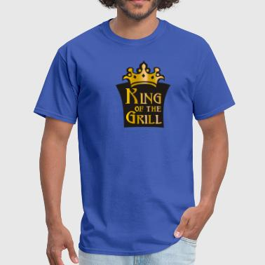 King of the grill (01) - Men's T-Shirt