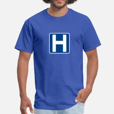 Hospital Help Hospital Sign - Men's T-Shirt