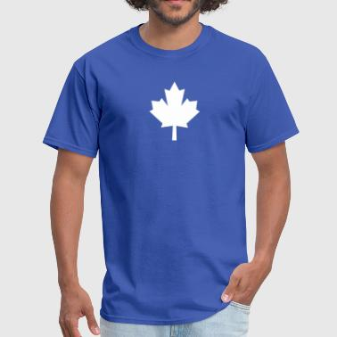 maple leaf white - Men's T-Shirt