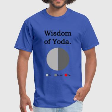 Wisdom of Yoda - Men's T-Shirt