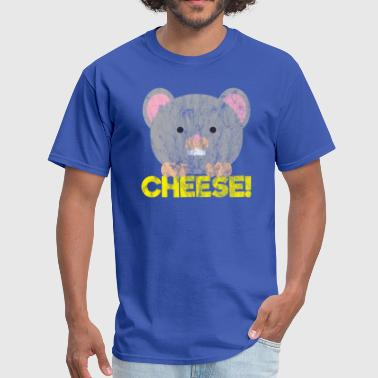Animals Rat's Cheese - Men's T-Shirt