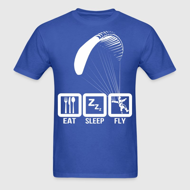 Paragliding Life Eat Sleep Fly - Men's T-Shirt