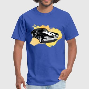 VK Retro Car - Men's T-Shirt