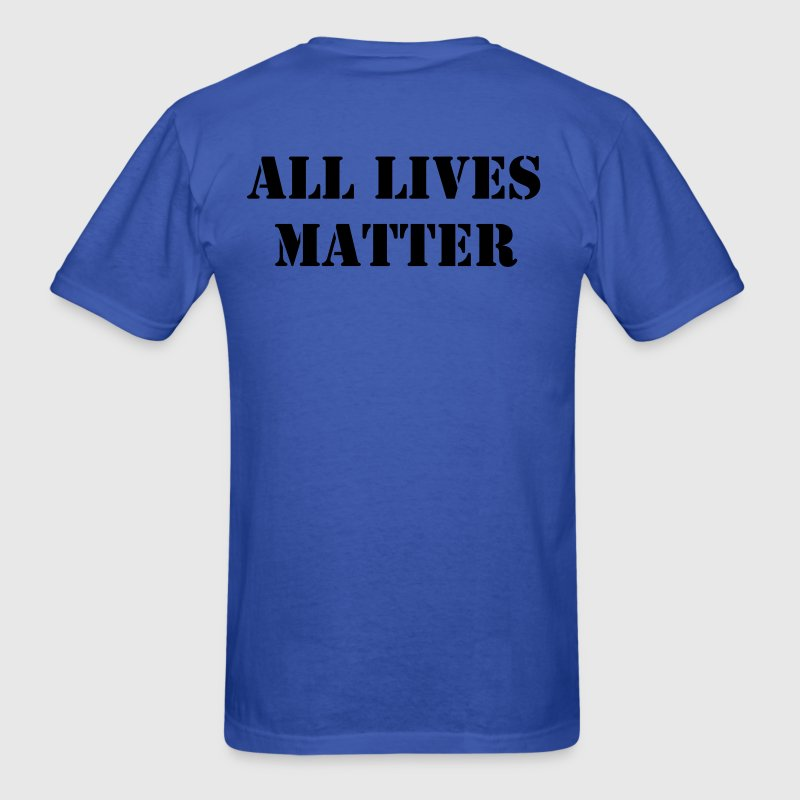 ALL Lives Matter RGB - Men's T-Shirt