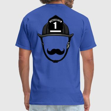firemustache - Men's T-Shirt