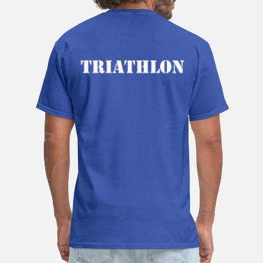 Triathlons triathlon - Men's T-Shirt
