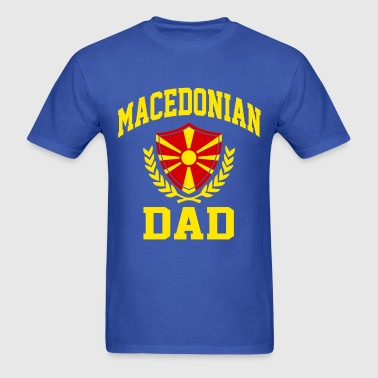 Macedonian Dad - Men's T-Shirt