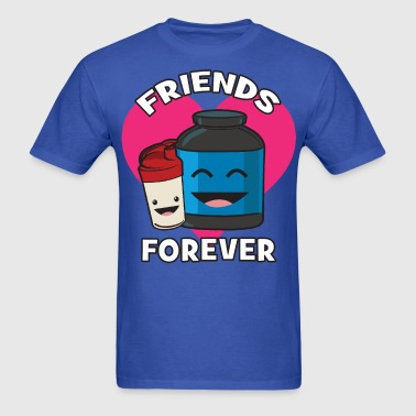 Friends Forever (Kawii Workout) - Men's T-Shirt