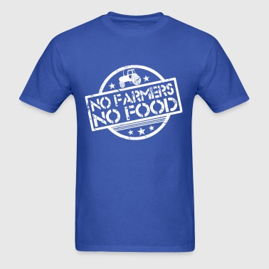 no_farmers_no_food - Men's T-Shirt