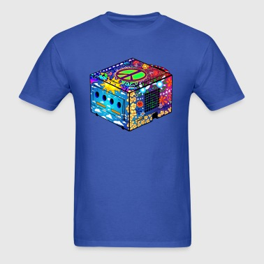 Hippie Gamecube - Men's T-Shirt