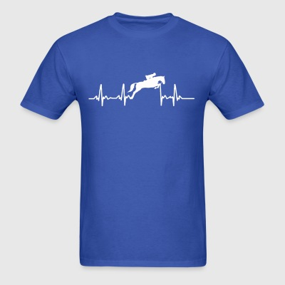 WPB Pulse of a Hunter Jumper - Men's T-Shirt